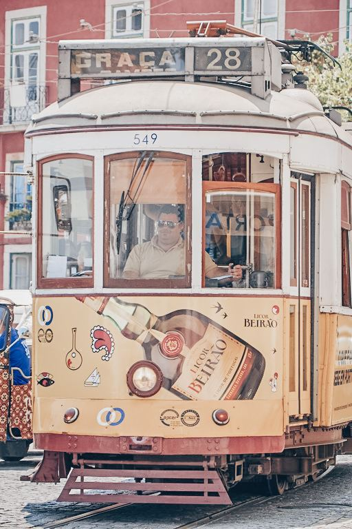 Things to do in Lisbon: The iconic vintage tram 28