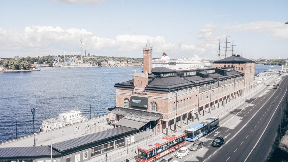 3 Days in Stockholm: Exterior of the world-class Fotografiska Museum.