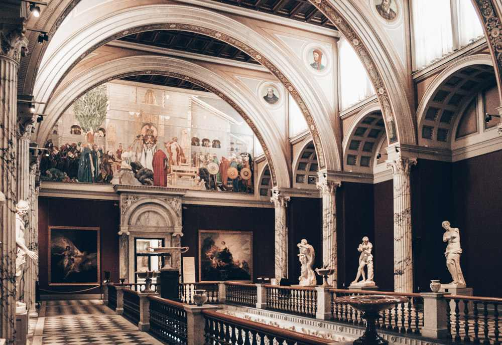 Things to do in Stockholm: Paintings inside the National Museum