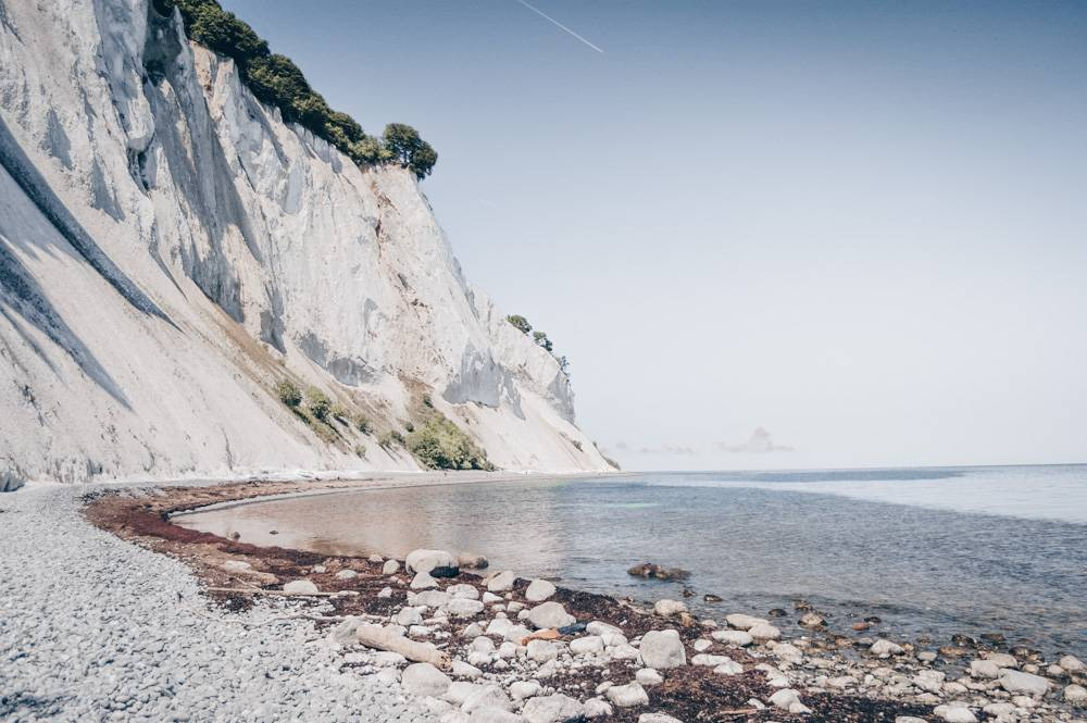 Places to visit in Denmark: The magnificent milky white chalk Cliffs of Møns