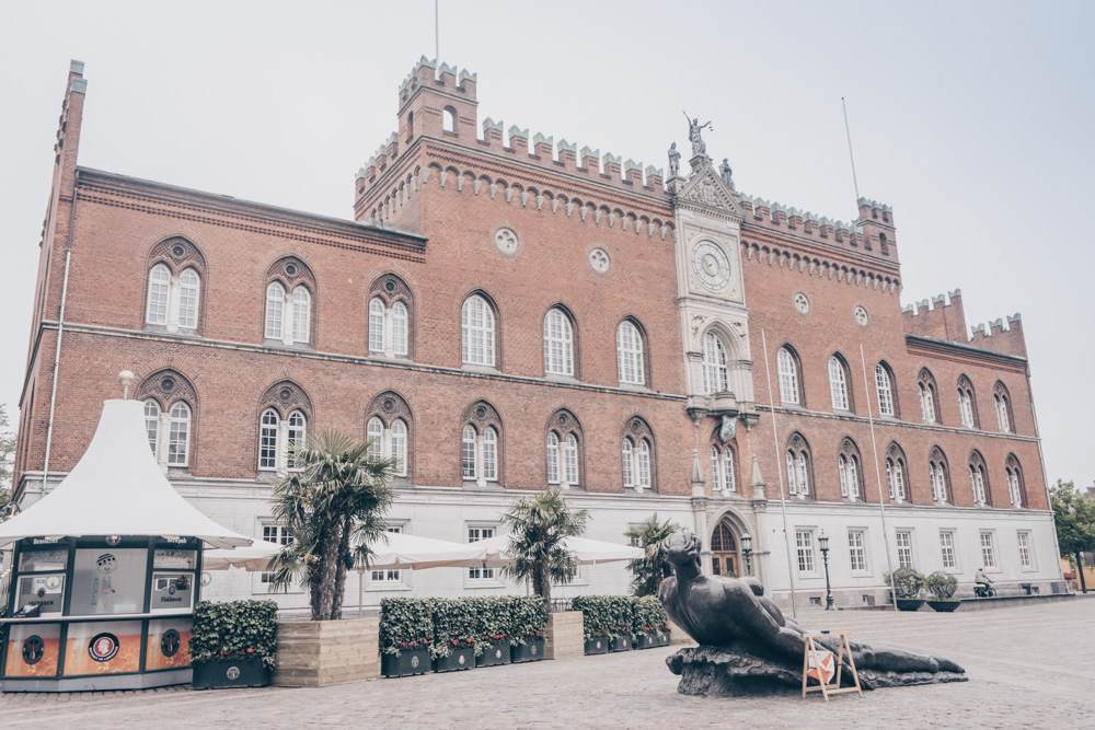 Things to see in Odense: The imposing Italian-Gothic style City Hall