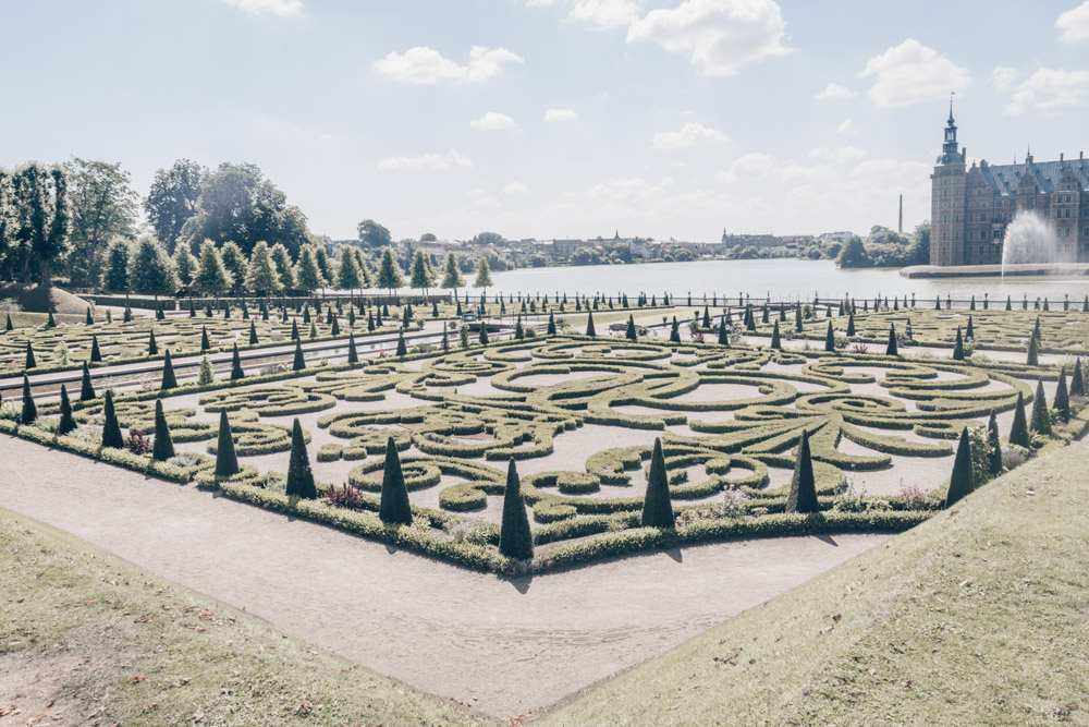 Day Trips from Copenhagen: The well-manicured Baroque gardens of Frederiksborg Castle