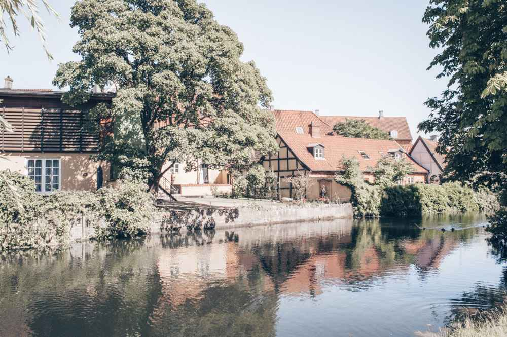 Day Trips from Copenhagen: Half-timbered houses and the river in Køge