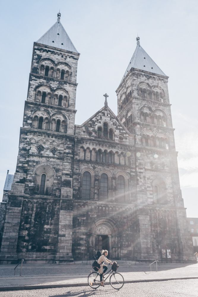 Places to visit in Sweden: The imposing twin-towered Lund Cathedral