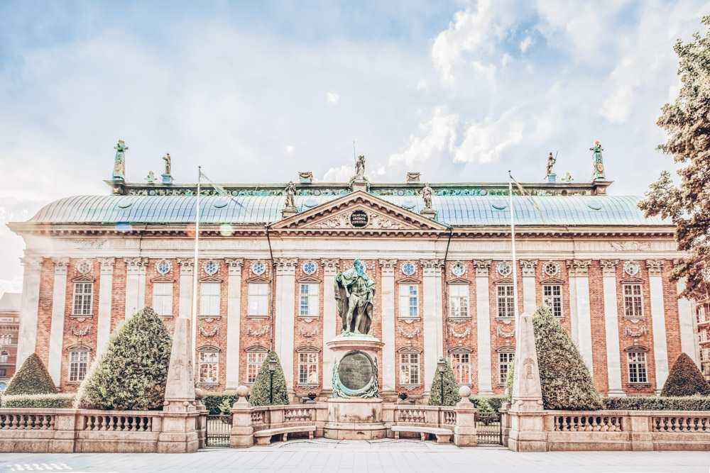 Places to visit in Stockholm: The House of Nobility, a lovely 17th century Baroque building