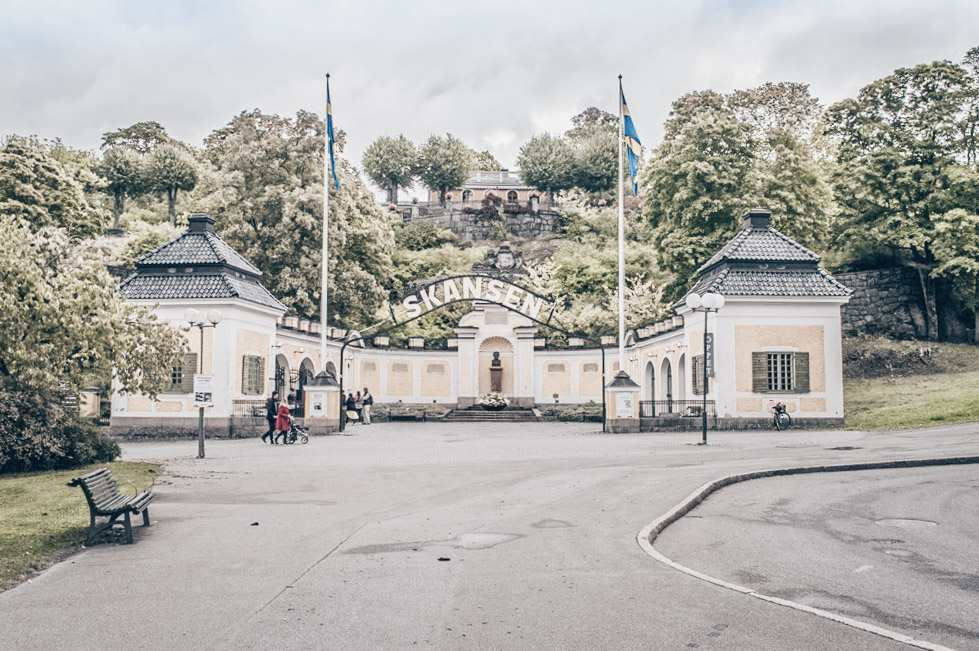 Stockholm must-see attractions: Entrance to Skansen, the world's oldest open-air museum