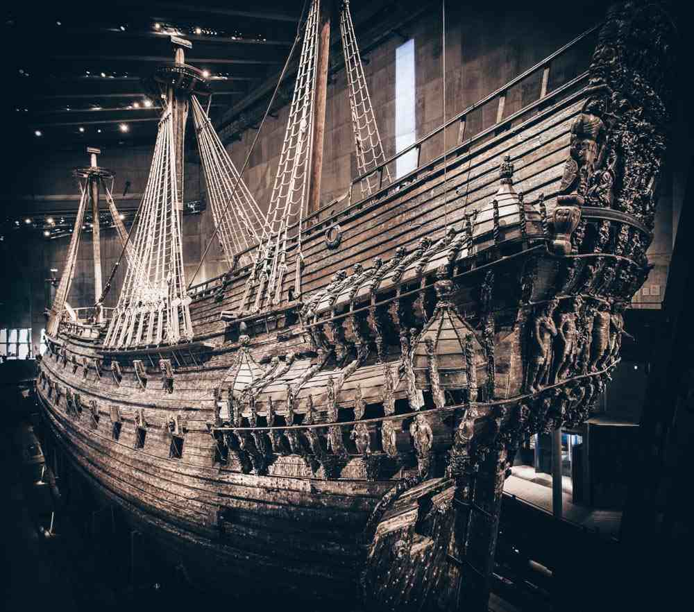 24 Hours in Stockholm: The impeccably restored 17th-century warship, the Vasa. PC: Noyan Yilmaz/shutterstock.com