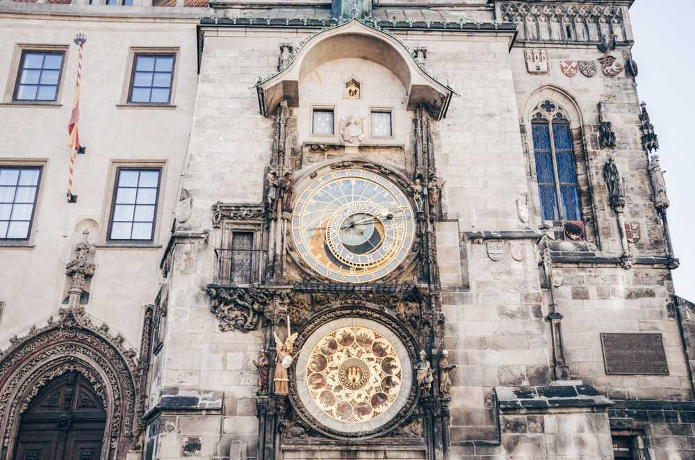 2 Days in Prague: Prague Astronomical Clock, the world's 3rd oldest astronomical clock