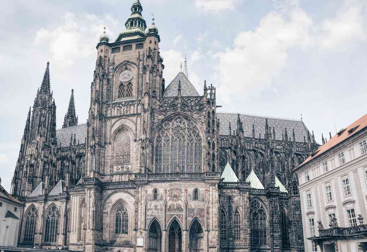48 Hours in Prague: The monumental exterior of the St. Vitus Cathedral