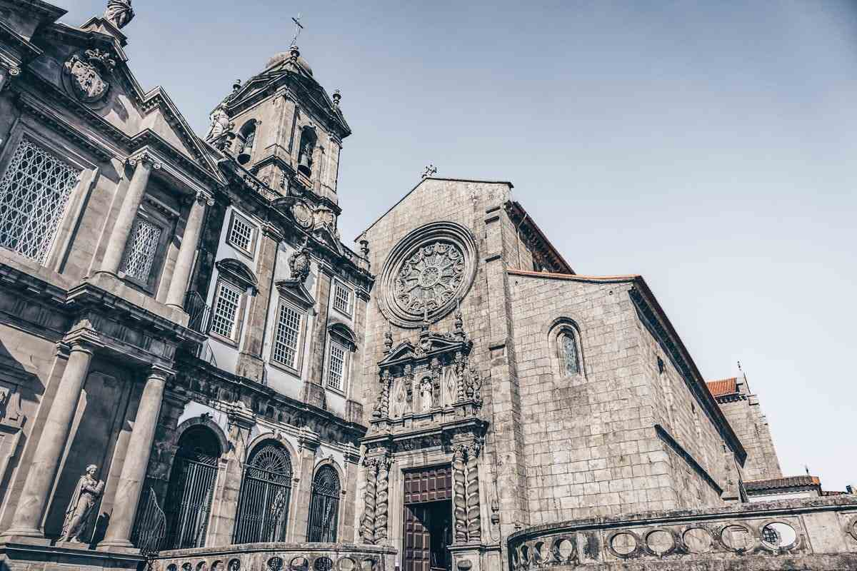 One Day in Porto: The Gothic exterior of the Church of Sao Francisco