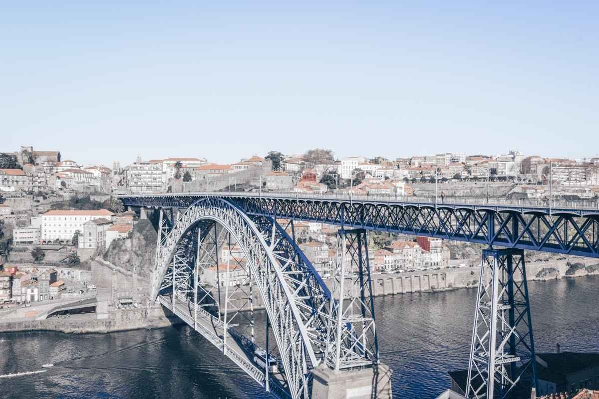 Things to do in Porto: The majestic Dom Luis I bridge