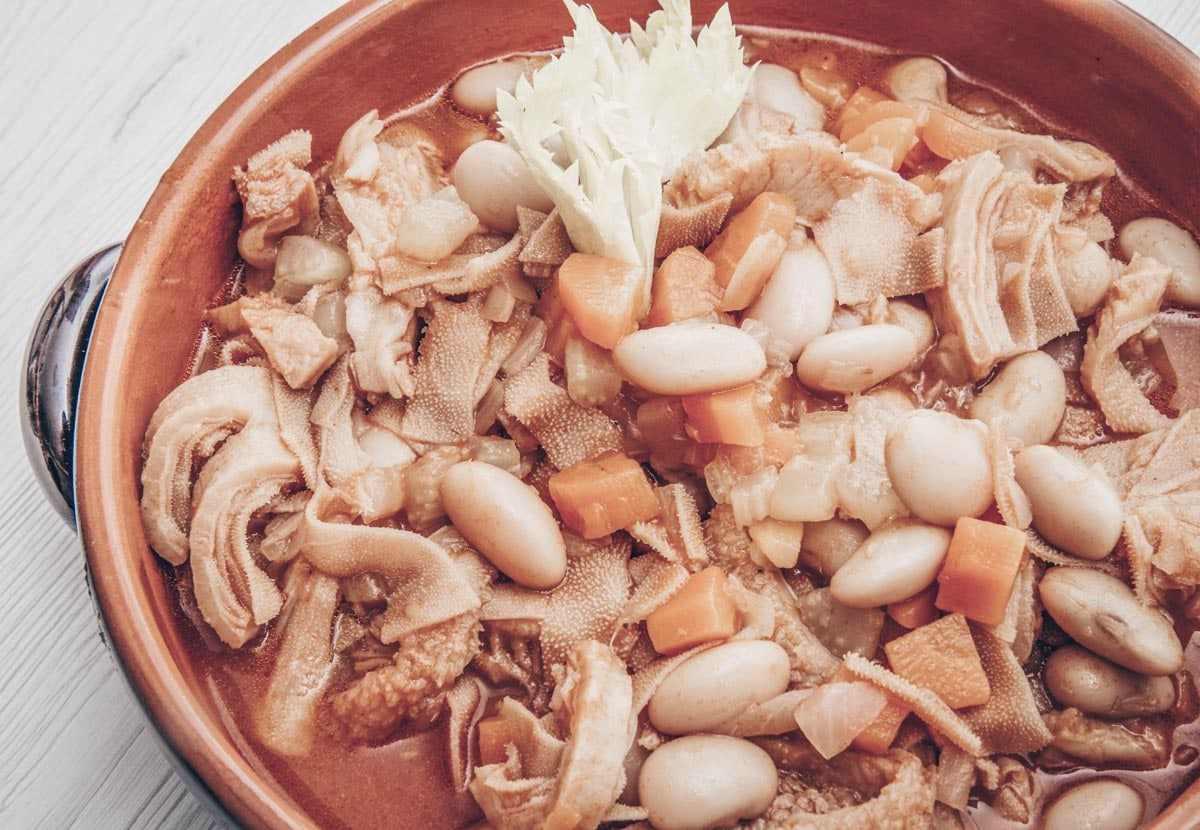 What to eat in Porto: Tripas à Moda do Porto, a scrumptious stew of tripe, veal and white beans