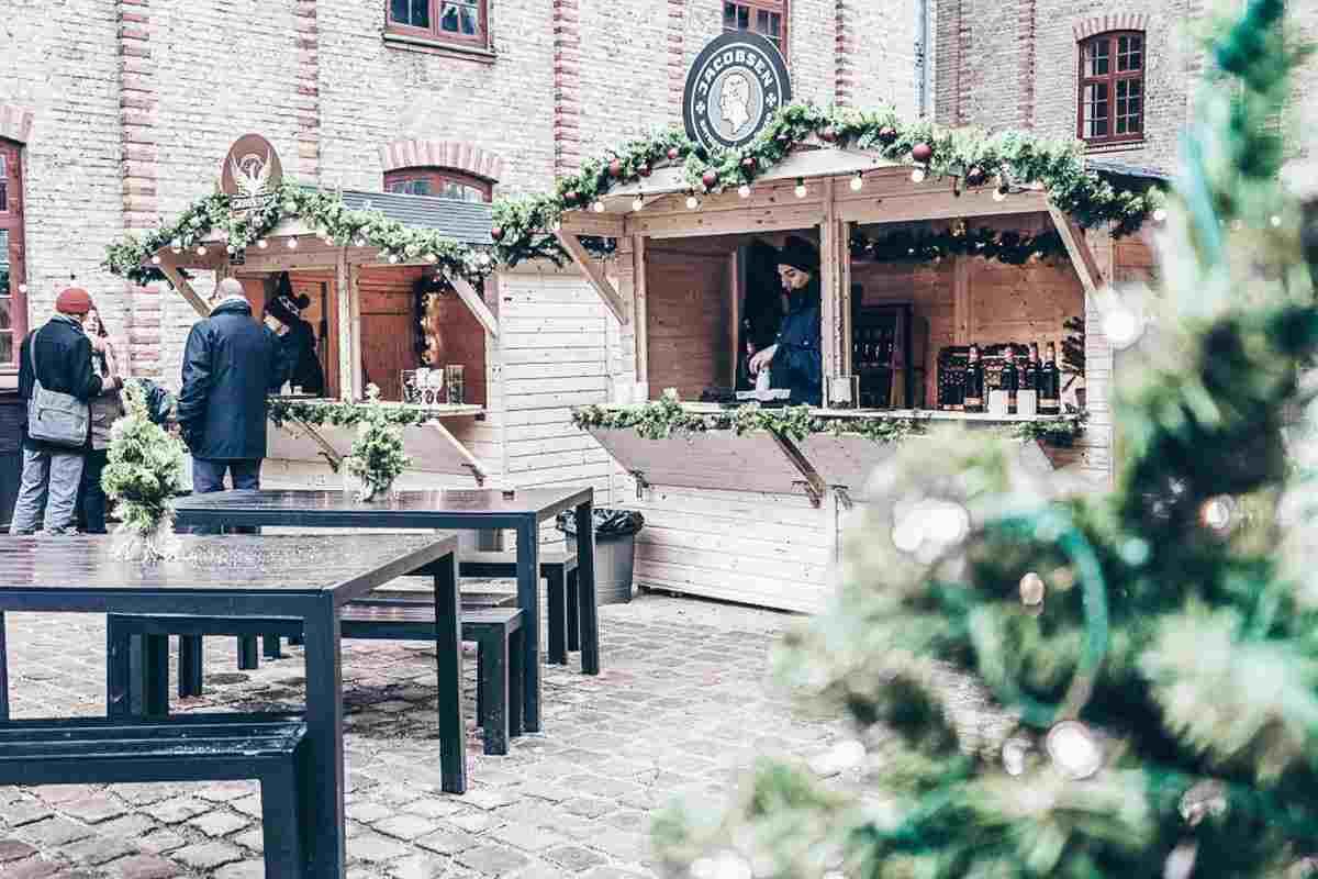 Carlsberg Christmas market in Copenhagen