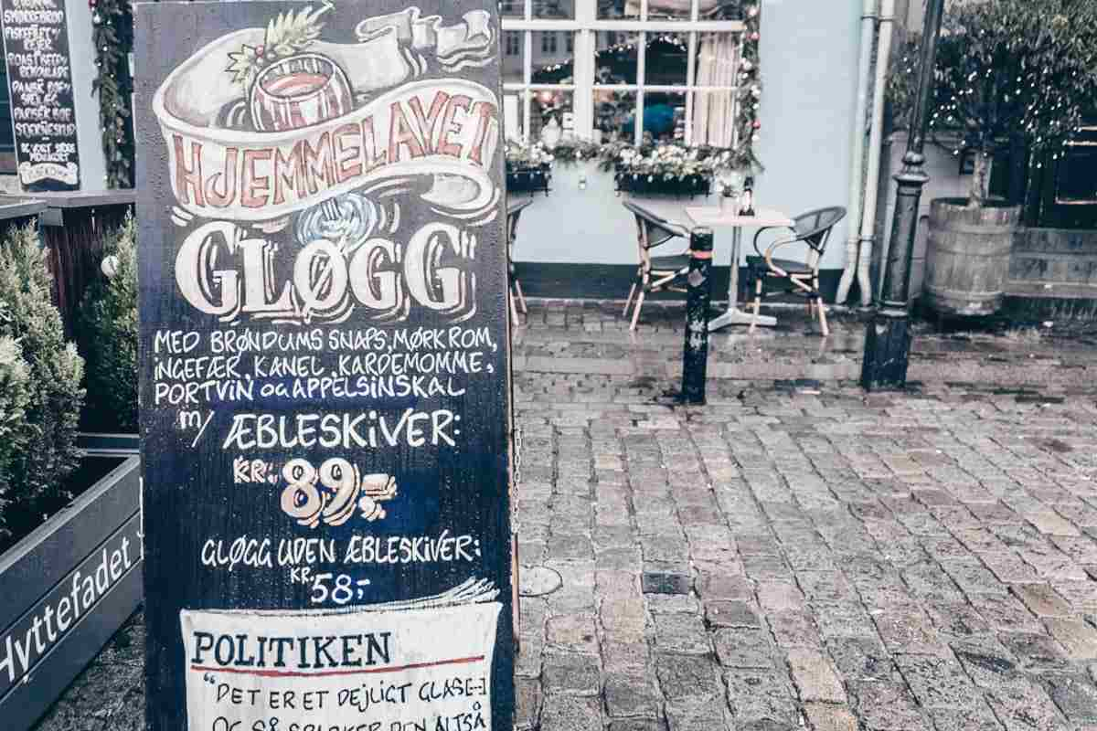 Glogg is one of the things you have to try at the Copenhagen Christmas markets