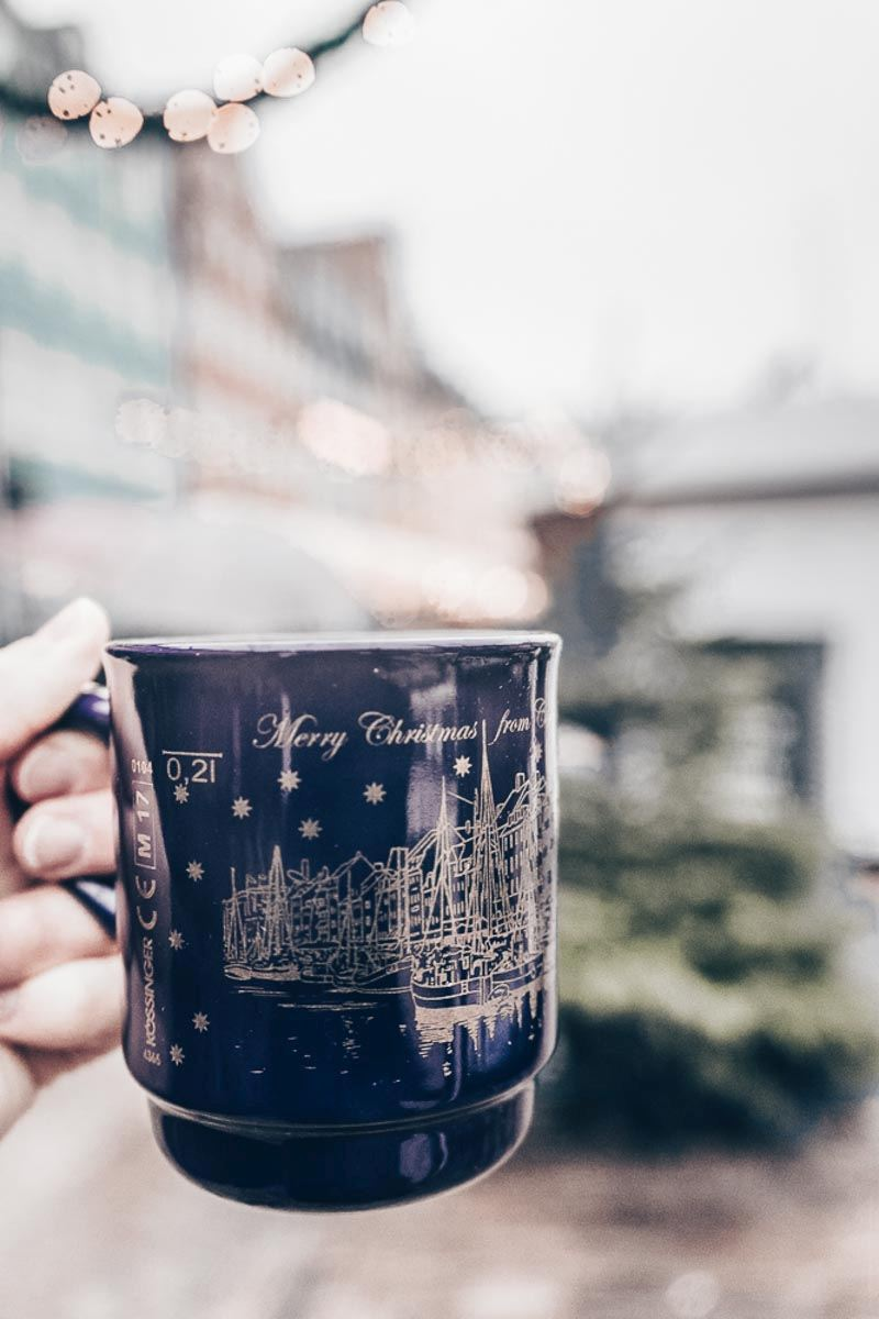 Enjoy a cup of mulled wine at the Christmas markets in Copenhagen!