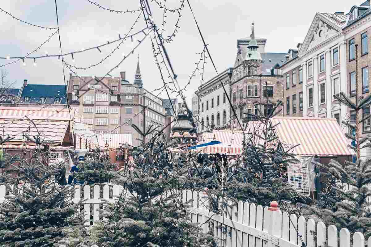 H.C. Andersen Christmas market in Copenhagen
