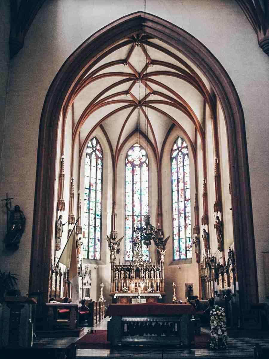 Maribor Kathedrale Innenansicht