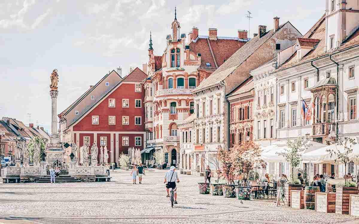 Maribor Hauptplatz