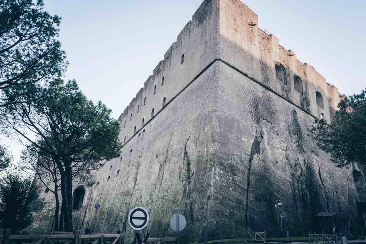 Naples travel: Castel Sant'Elmo, a star-shaped 13th century fortress