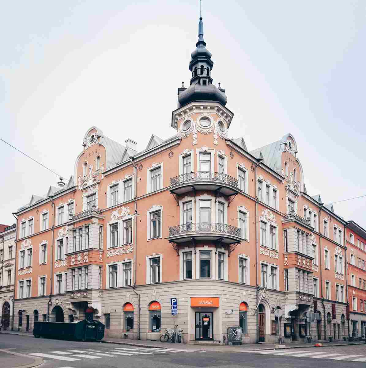 Things to do in Helsinki: Beautiful Art Nouveau style edifice in Helsinki