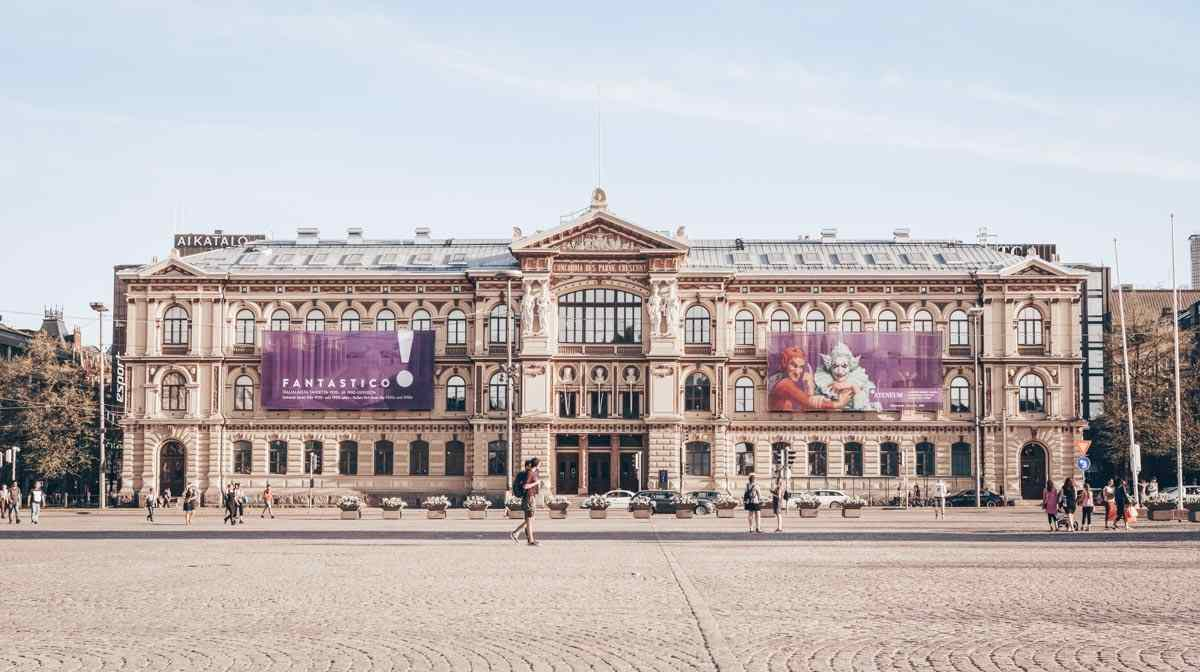 Things to see in Helsinki: Exterior of the Ateneum Art Museum. PC: Sarah Marchant/shutterstock.com