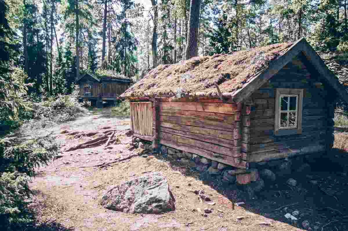 Things to do in Helsinki: Old farmsteads and barns at the Seurasaari Open-Air Museum