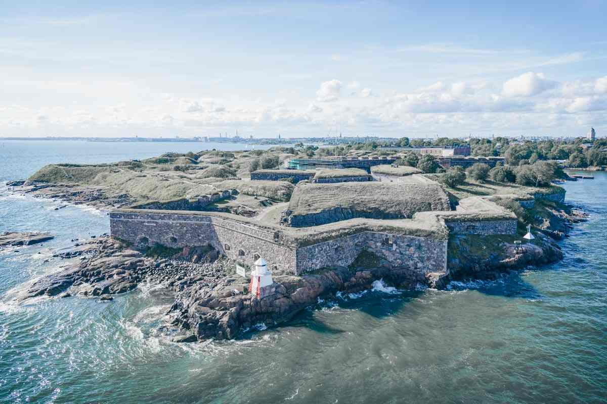 Must-see Helsinki: The star-shaped historic Suomenlinna Fortress, a UNESCO World Heritage Site