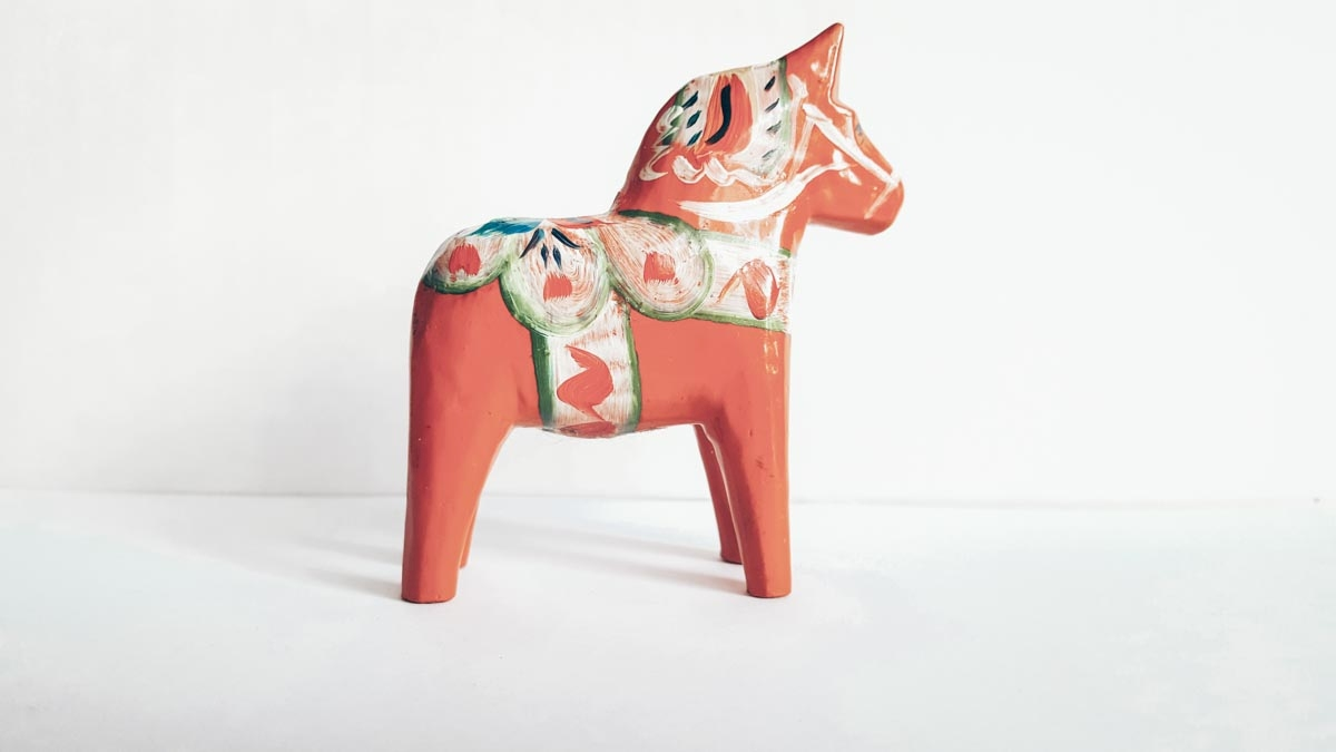 Swedish Souvenirs: The iconic Dala wooden Horse