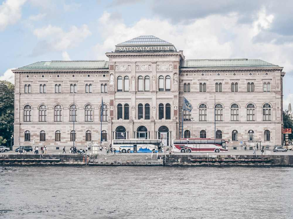 Stockholm Museums: Exterior of the Renaissance-style building of the National Museum