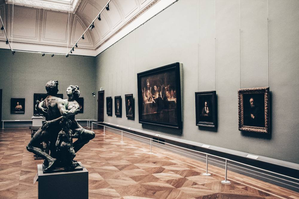 Stockholm sightseeing: Classical artworks and sculptures at the National Museum