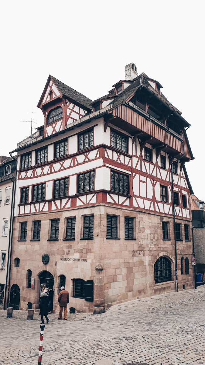 Must-see Nuremberg: Albrecht Dürer House, a beautifully preserved half-timbered medieval house