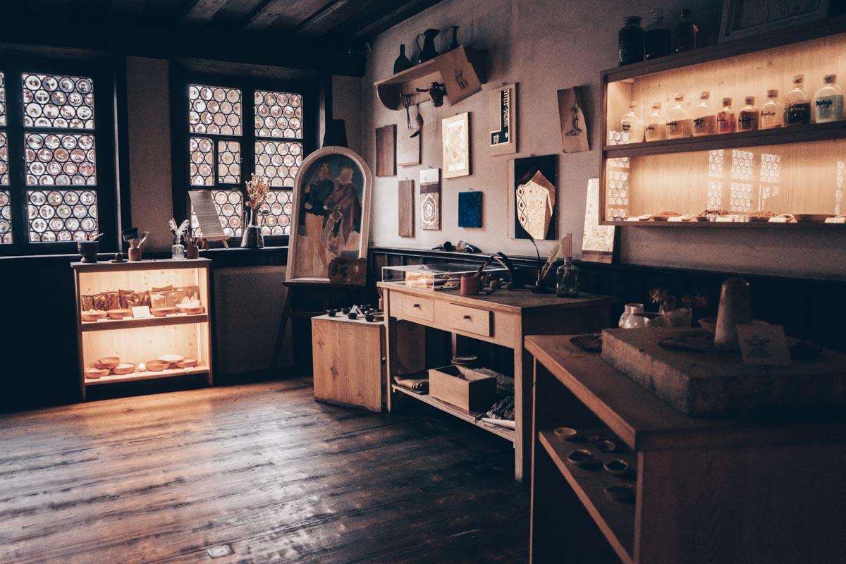Дом Альбрехта-Дюрера: оригинальные офорты, ксилографии и гравюры в студии