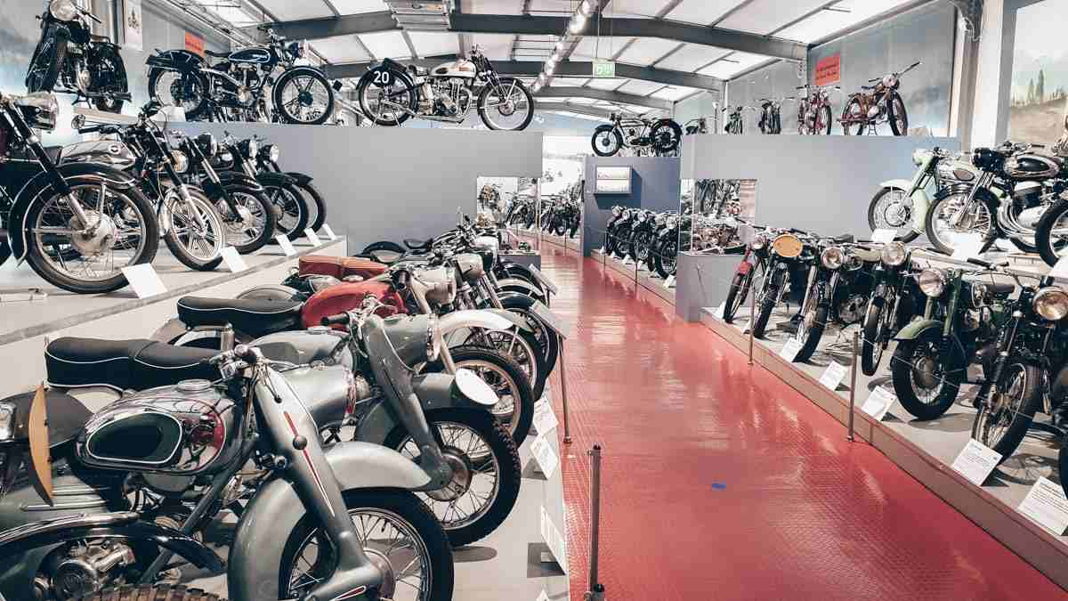 Things to do in Nuremberg: The collection of vintage motorcycles at the Museum of Industrial Culture