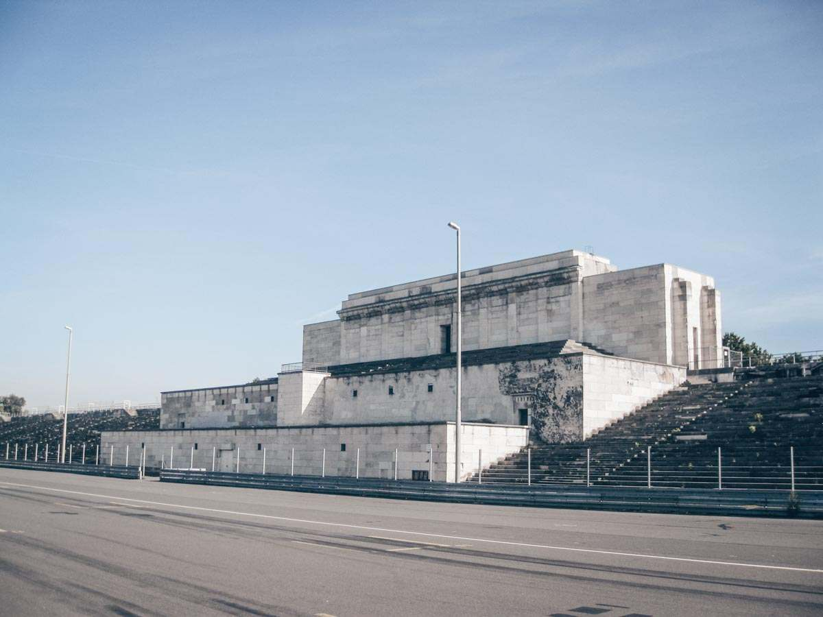 Places to see in Nuremberg: The Zeppelin Field, where Hitler often gave speeches. PC:  bynyalcin [CC BY (https://creativecommons.org/licenses/by/3.0)], via Wikimedia Commons