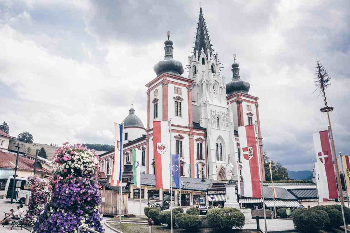 Austria sightseeing: The magnificent Mariazell Basilica, a popular pilgrimage site