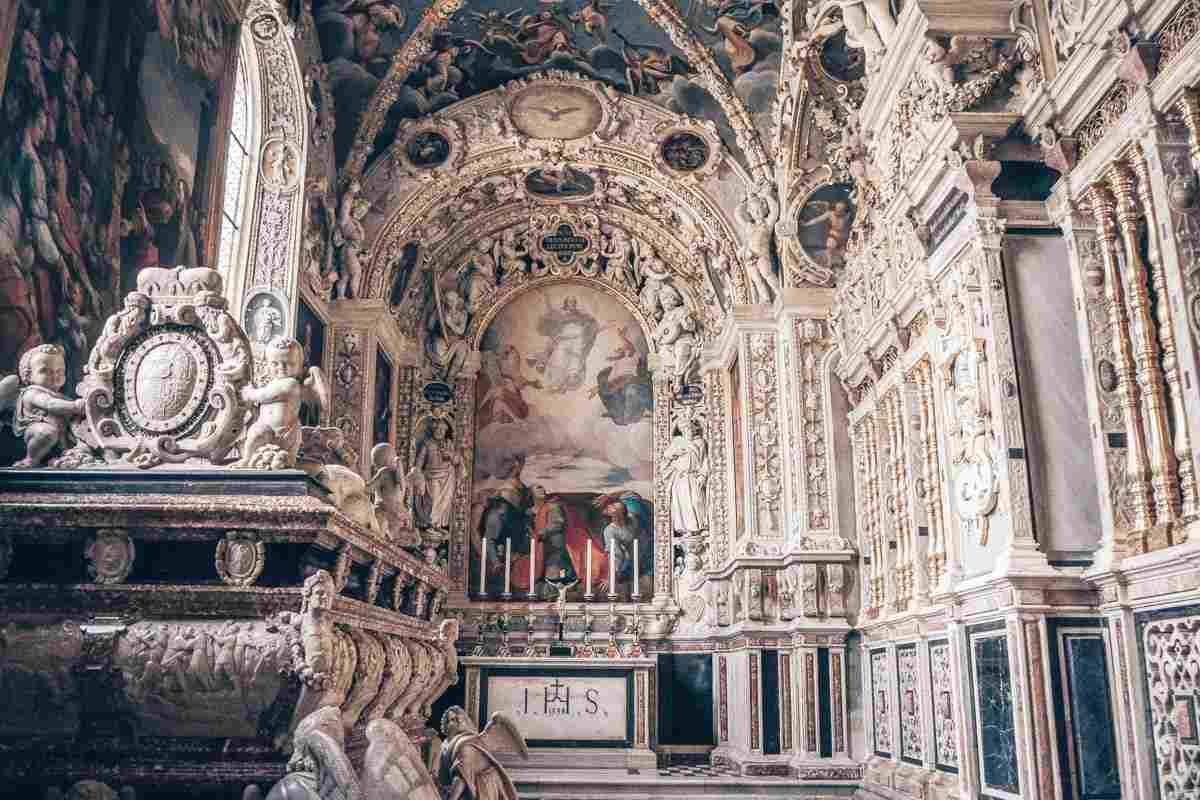 Seckau Abbey: The wonderfully ornate Mausoleum of Karl II
