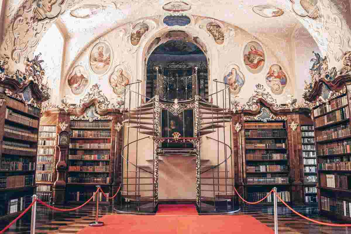 Must-see places in Austria: The stupendous fresco- and stucco-adorned library of Vorau Abbey