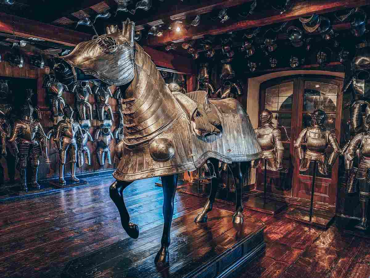 Things to see in Graz: Horse armour and body armour on display at the Styrian Armoury