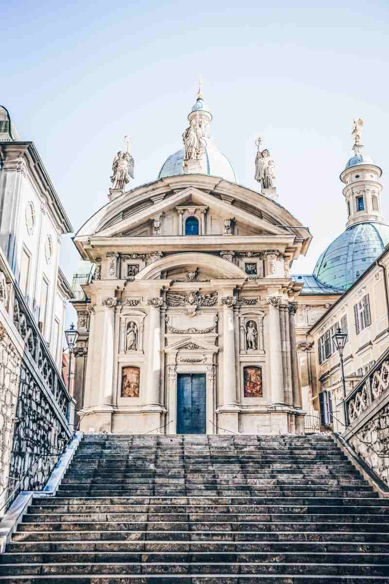 Things to do in Graz: Mausoleum of Ferdinand II, a beautiful example of Mannerist-Baroque architecture