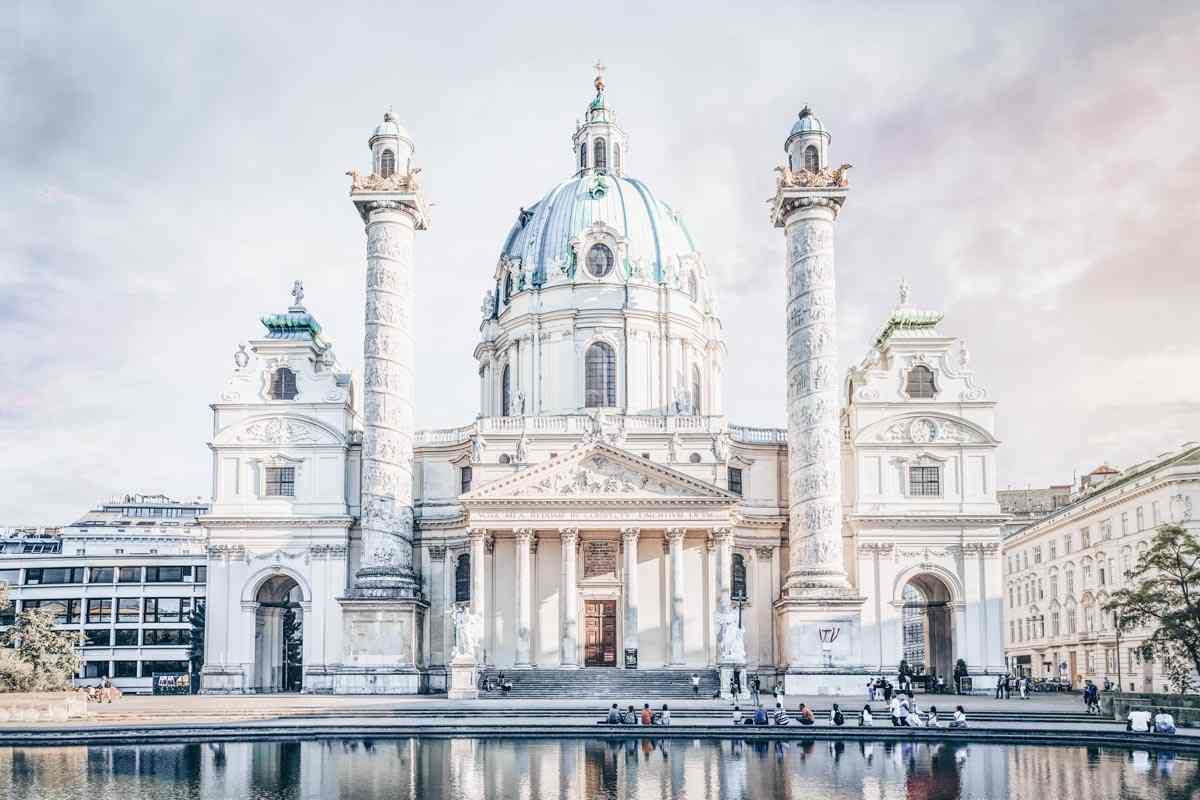 Must-see Vienna: The marvelous Baroque exterior of the Church of St. Charles