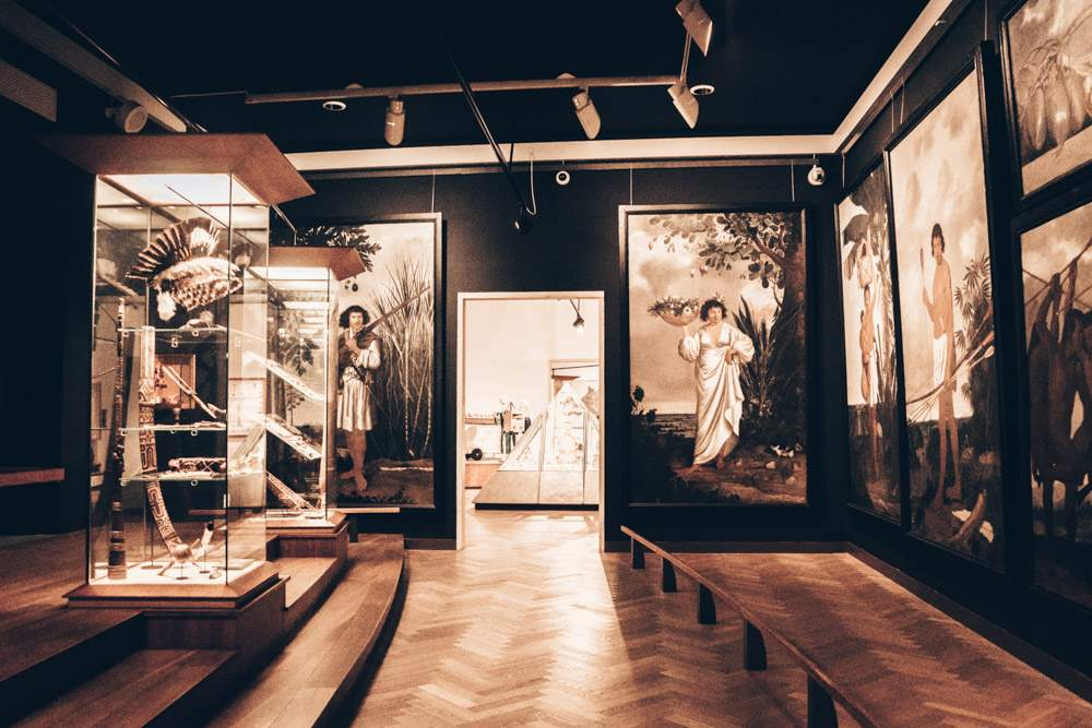 Danish National Museum Copenhagen: East Asian paraphernalia on display