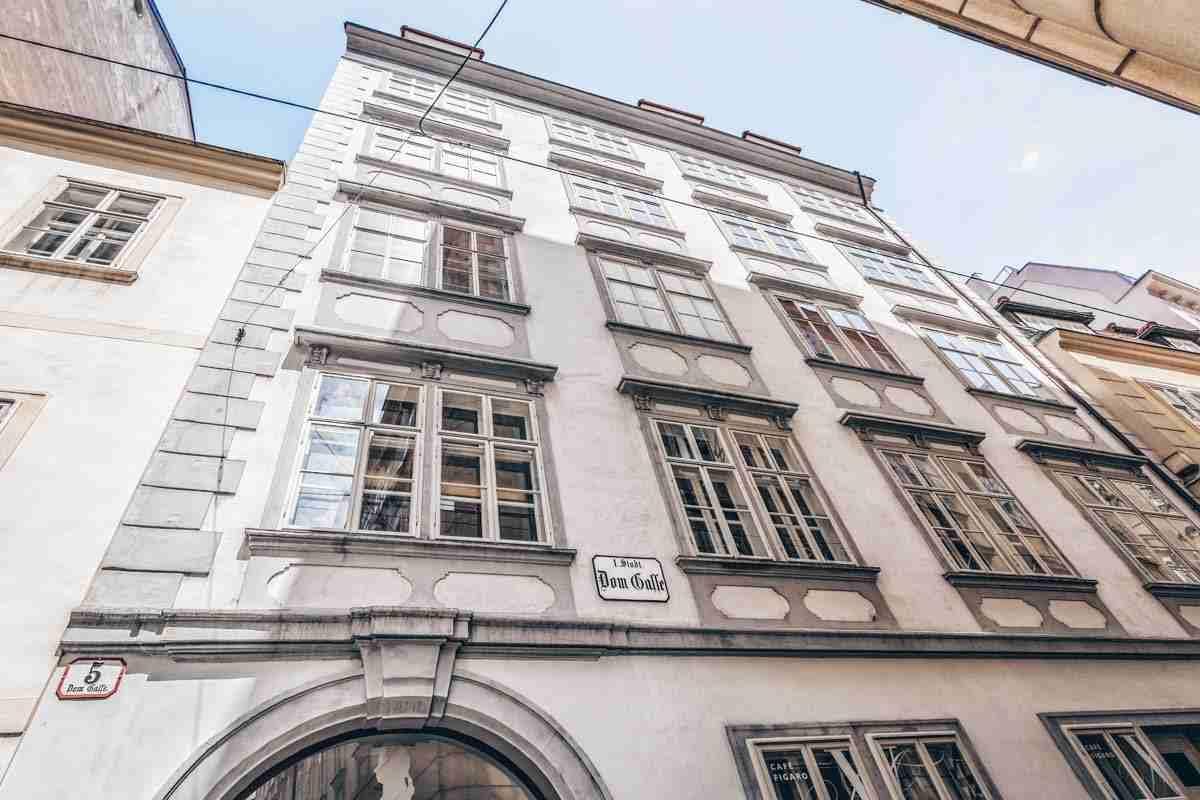 Vienna points of interest: Exterior of the Mozart House. PC: Svetlana195 - Dreamstime.com