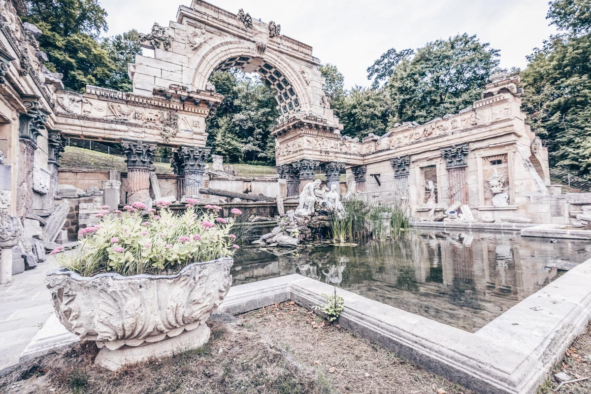 The lovely Roman Ruins in the Schönbrunn Palace Park in Vienna. PC: Rusel1981 - Dreamstime.com