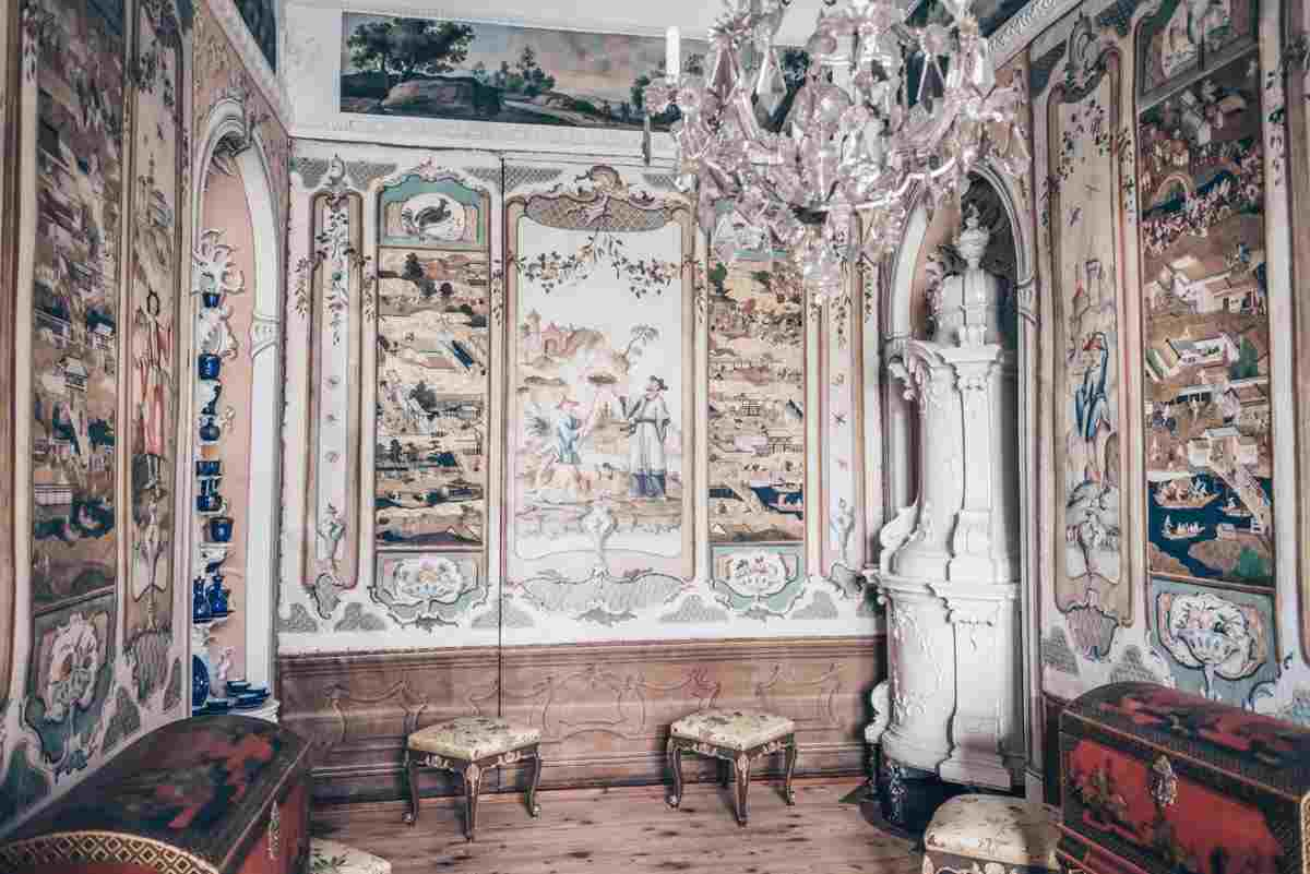 Graz attractions: The interior of the exquisite East Asian Room at Eggenberg Palace. PC: Lev Tsimbler - Dreamstime.com