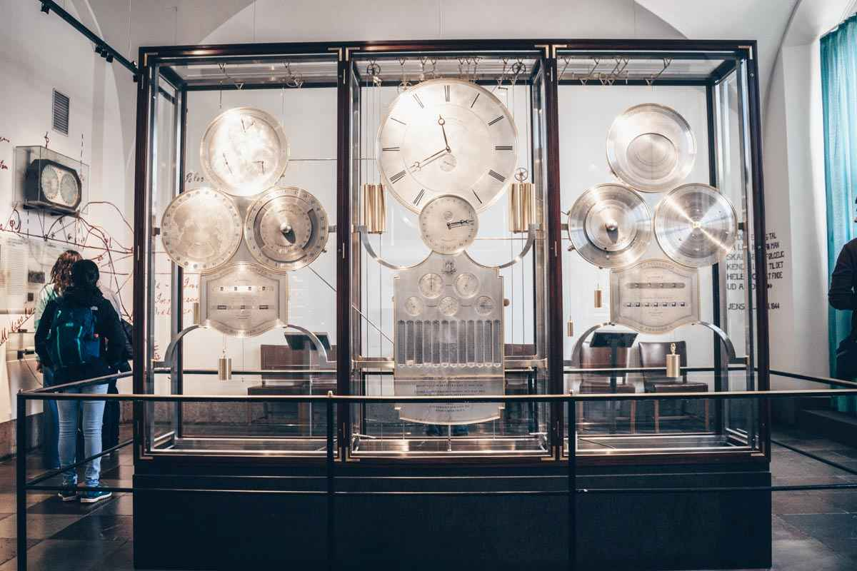 Things to see in Copenhagen: The famous Jens Olsen's World Clock inside City Hall