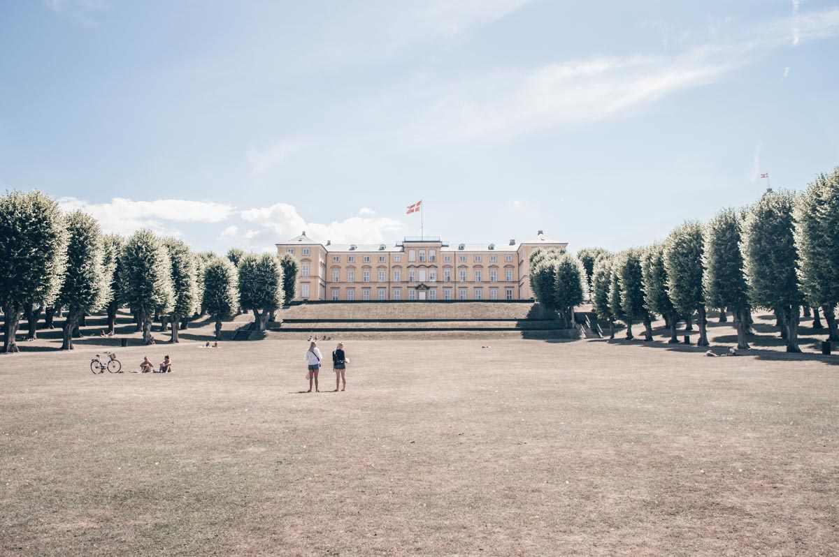 Visit Copenhagen: The ocher-colored Frederiksberg Palace