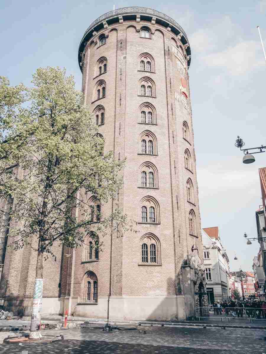 Must-see Copenhagen: Exterior of the cylindrical shaped Round Tower