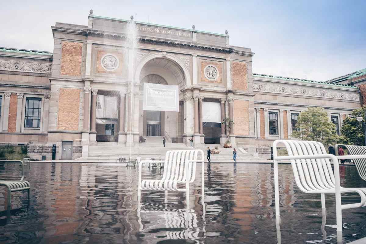 Places to see in Copenhagen: Exterior of the Danish National Gallery