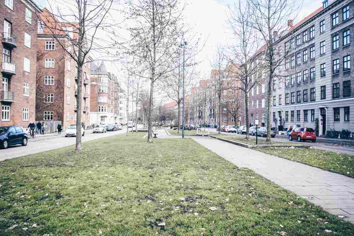Sonder Boulevard in the Vesterbro district of Copenhagen