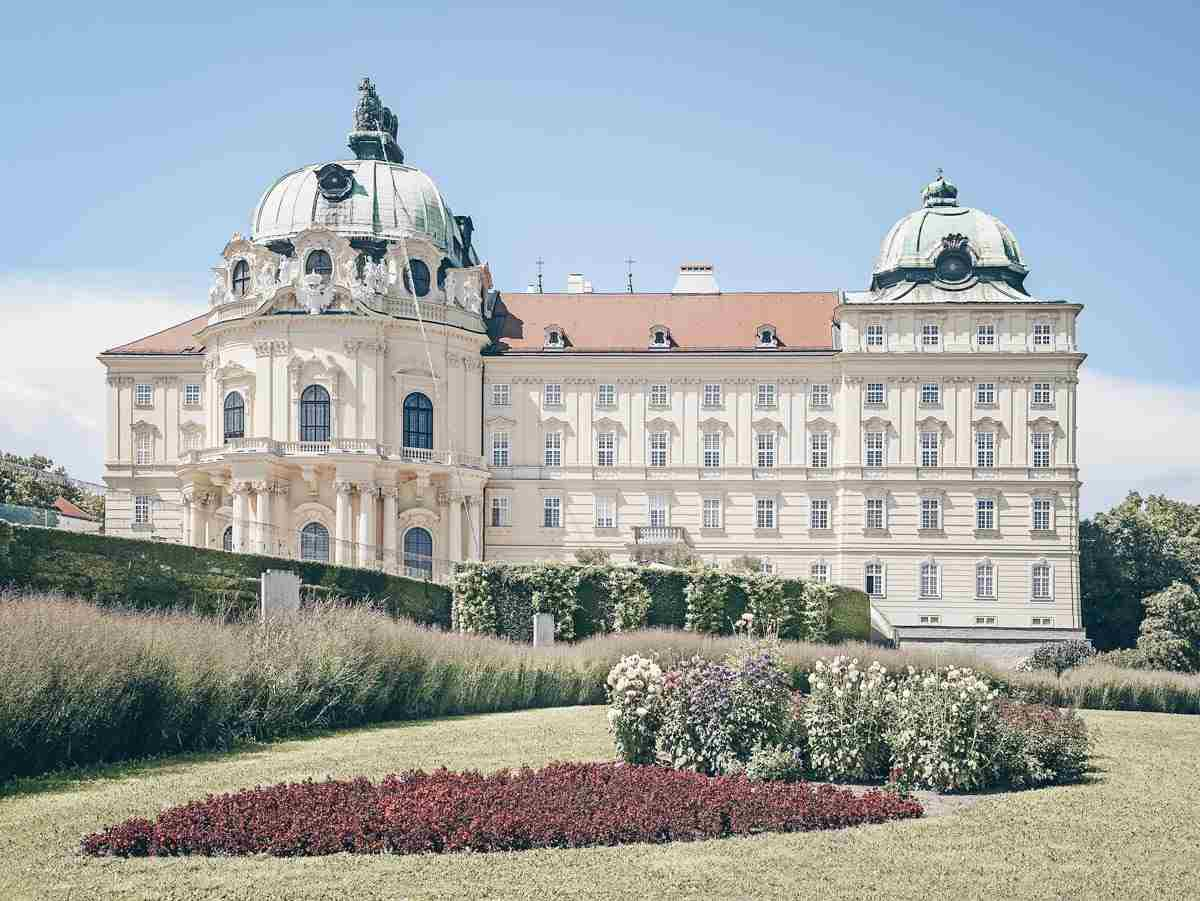 Day Trips from Vienna: Exterior of the Klosterneuburg Abbey